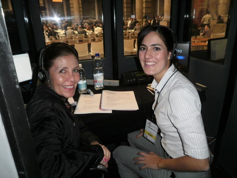 Intérpretes y Traductoras